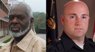 White Officer and dead black criminal